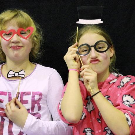 Pyjamaparty mit den Vereinskindern