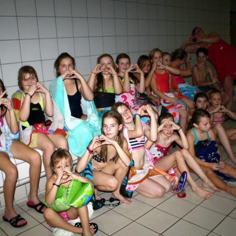 Pyjamaparty mit unseren Vereinskindern und ihren Freunden