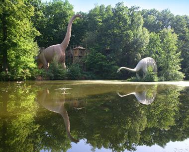 Ausflug in den Dinosaurierpark Kleinwelka am 17.6.