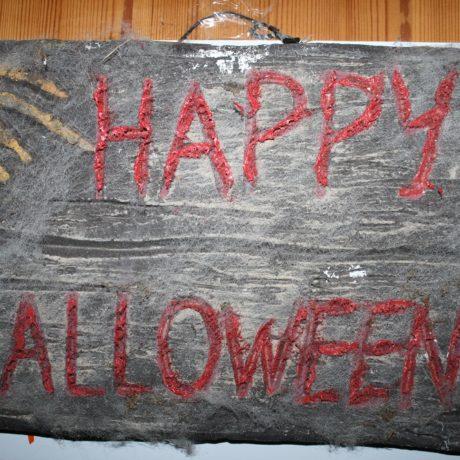 Sauna Halloween Abend