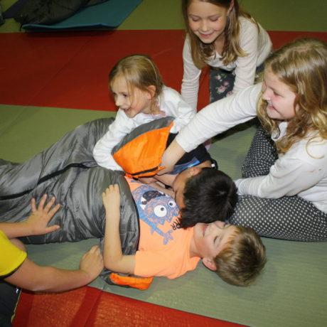 Pyjamaparty der Vereinskinder und ihrer Freunde
