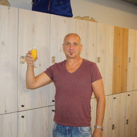 Eröffnung des neu gestalteten Umkleidebereiches