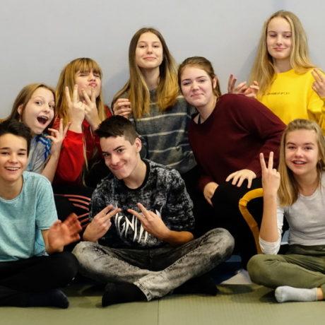 Pyjamaparty unserer Vereinskinder und ihrer Freunde